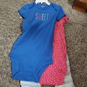 Two onesies set with pants
